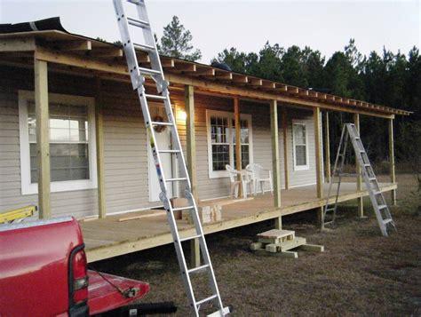 mobile home porch plans  home design ideas