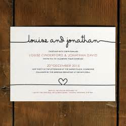 wedding invitations with pictures original scribble wedding invitation suite jpg