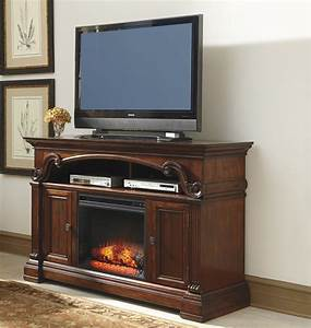 Alymere Large TV Stand w/ Fireplace Option by Ashley