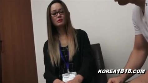 Uptight Korean Lady In Glasses Lubetube