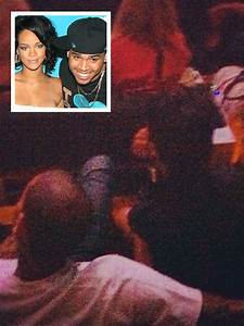 Chris Brown And Rihanna Spotted At Jay Zu002639s Brooklyn Show