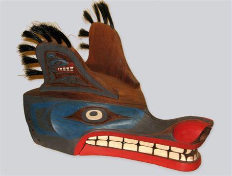 masque rituel de loup fils des histoires