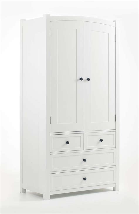 White Wardrobe And Drawers by Children S White Painted Wardrobe And Chest Of