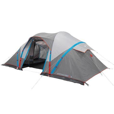 tente 4 places 2 chambres seconds family 4 2 xl quechua air seconds family 4 2 xl decathlon