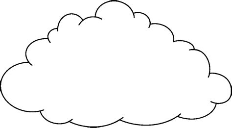 Rain Cloud Clipart Black And White Free 4