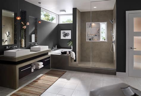 Expensive Modern Double Shower Bathroom Designs 52 For