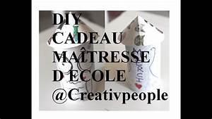 Cadeau Pour Maitresse D École : diy cadeau ma tresse d 39 ecole creativpeople youtube ~ Melissatoandfro.com Idées de Décoration
