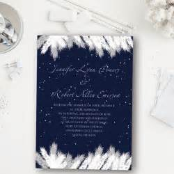 personalized candle wedding favors addorable navy blue snow winter wedding invitation ewi367