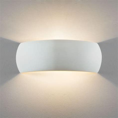 astro lighting 7506 milo 400 white ceramic wall light