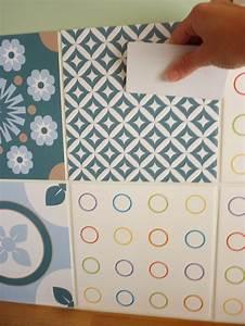 Papier Adhésif Carreaux De Ciment : j 39 ai test pour vous les stickers d cor s fa on carreaux ~ Premium-room.com Idées de Décoration