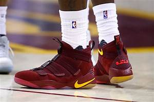 LeBron James Debuts Nike Zoom Soldier XI in Game 1 Against ...