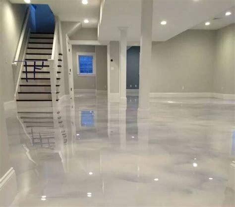 epoxy flooring white pearl white epoxy fairfax county virginia jpg basement pinterest basements epoxy and concrete