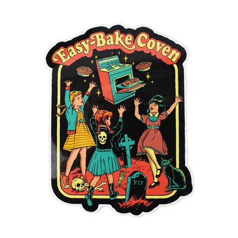easy bake coven sticker creepy co