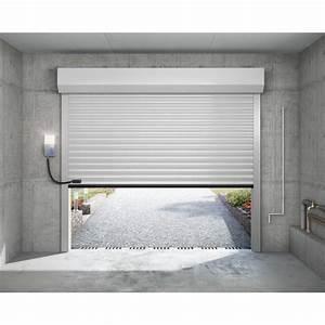 porte de garage enroulable castellane With porte de garage enroulable jumelé avec porte de securite