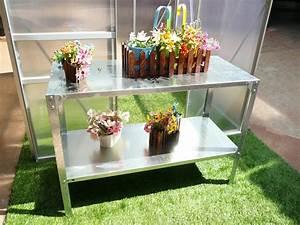 Etagere Pour Serre : etagere pour plantes petunia 115 x 50 x 75 cm 78691 ~ Premium-room.com Idées de Décoration
