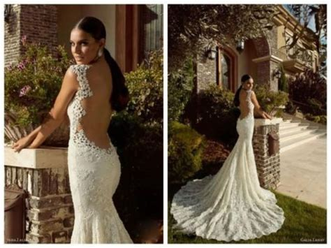 backless wedding dress lace wedding backless gown with the mermaid cut at the bottom