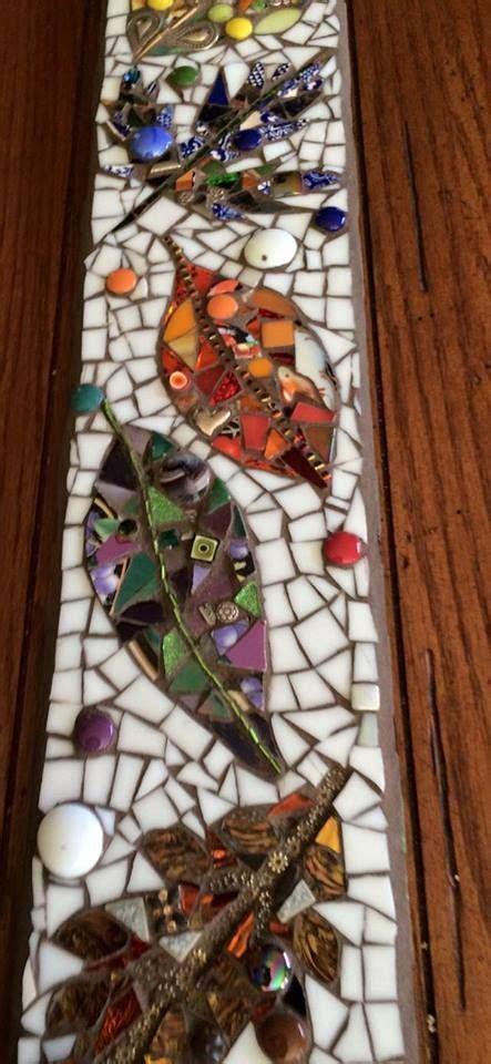 wall tiles mosaic leaves mosaiquismo mosaicos