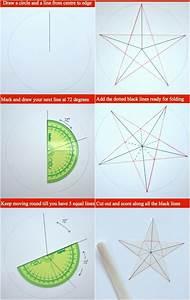 3d Stern Basteln 5 Zacken : weihnachtsdeko selber basteln aus papier mit anleitung ~ Lizthompson.info Haus und Dekorationen