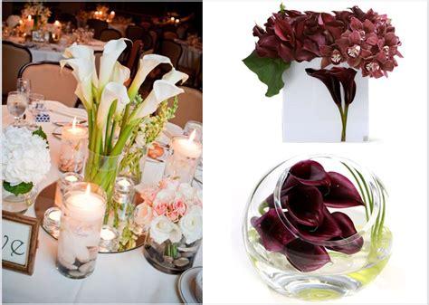 calla lily wedding flowers affordable wedding reception
