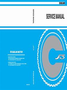 Daelim S3 125cc Service Manual