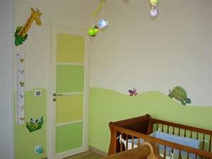 motif peinture chambre fille galerie avec peinture chambre With chambre bébé design avec sac à fleurs