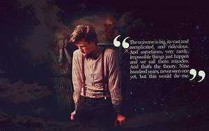 Doctor Who Quotes Wallpaper. QuotesGram
