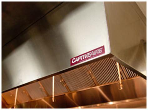commercial kitchen ventilation systems captiveaire