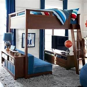 Hochbett Für 2 Erwachsene : jugendzimmer mit hochbett 90 raumideen f r teenagers ~ Bigdaddyawards.com Haus und Dekorationen