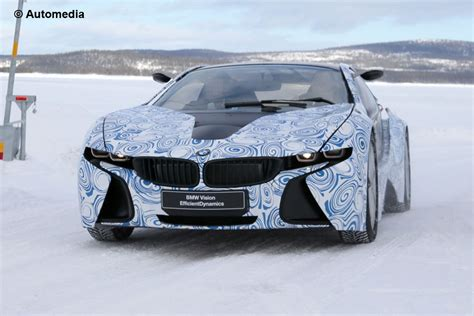 New Bmw I8 Hybrid Supercar Spy Pictures