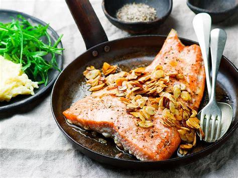 truite cuisine recette truite amandine sos cuisine
