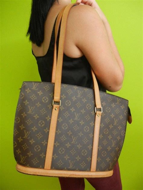 authentic louis vuitton monogram babylone lv tote bag