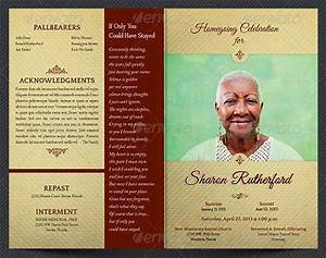 Funeral program template 30 download free documents in for Funeral leaflet template