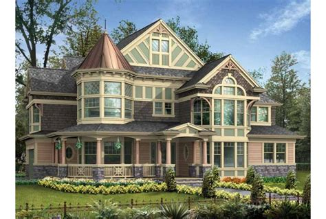 Victorian House Plans With Turrets Design