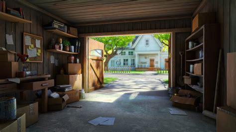 Artstation  Summertime Garage, Robert Craig