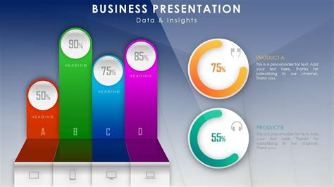 create beautiful infographic dashboard  business