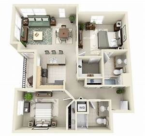 Two, Bedroom, House, Plans, By, Crescent, Ninth, Street, And, Domaine, At, Villebois
