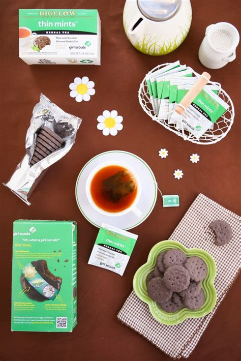 Thirsty For Tea Tea of the Week: Bigelow's Girl Scout Thin ...