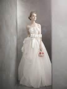 vera wang brautkleider white by vera wang wedding dress onewed