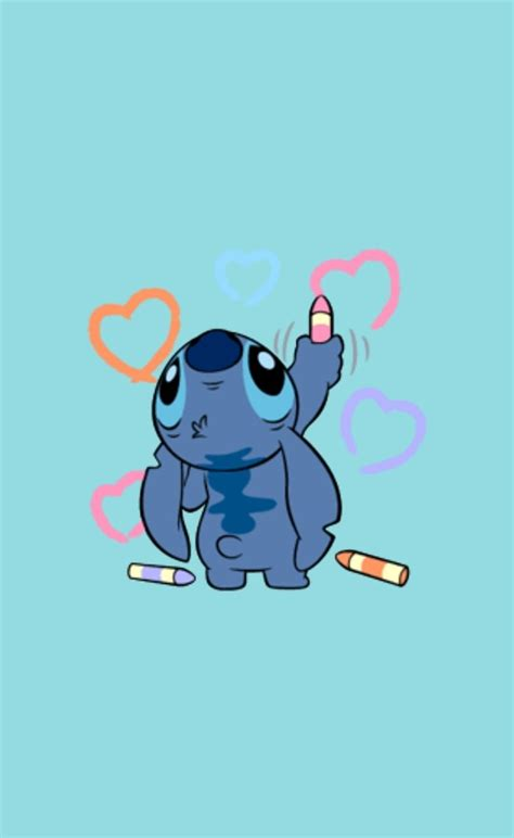 aesthetic stitch wallpapers