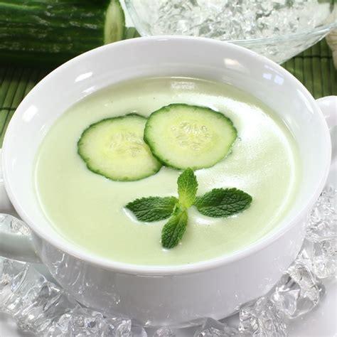 cucumber soup recipe chilled cucumber yogurt soup recipe dishmaps