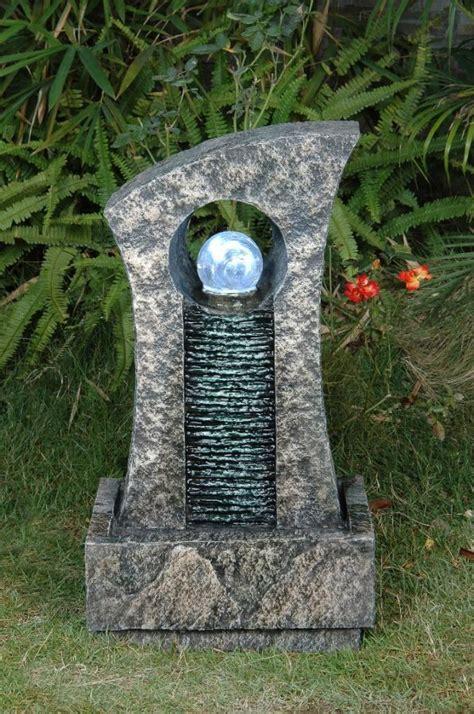 fontaine d ext 233 rieur boule de cristal et mur d eau lumi 232 re 189 99
