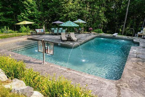 L-shape Inground Pool Kits