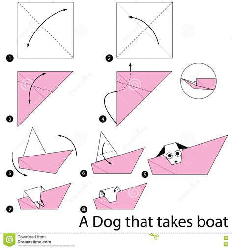 How To Draw A Boat Paper by Boat Paper Step By Step Pencil And In Color