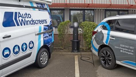 Auto Windscreens Adds Chargedev Charge Points To Network
