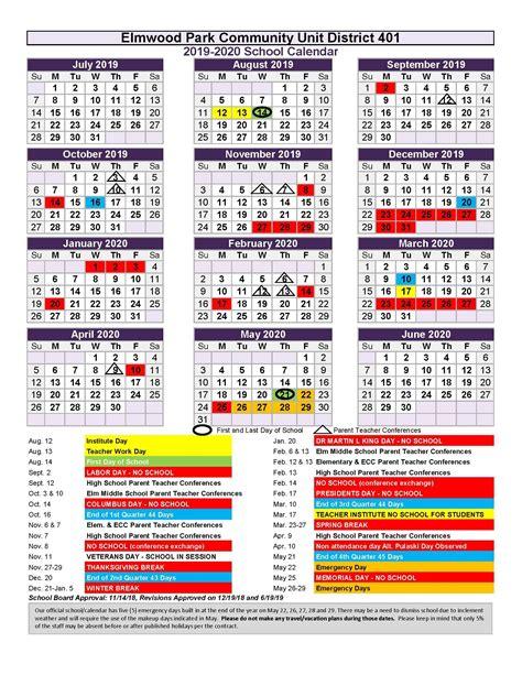 district school year john mills epcusd calendars