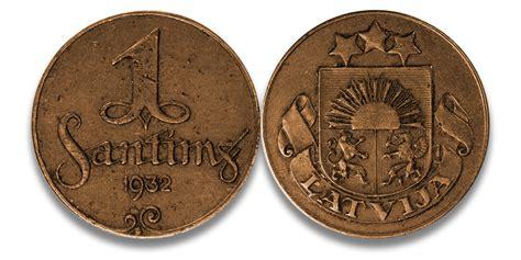 Autentisku Latvijas monētu komplekts - monētas atradās ...