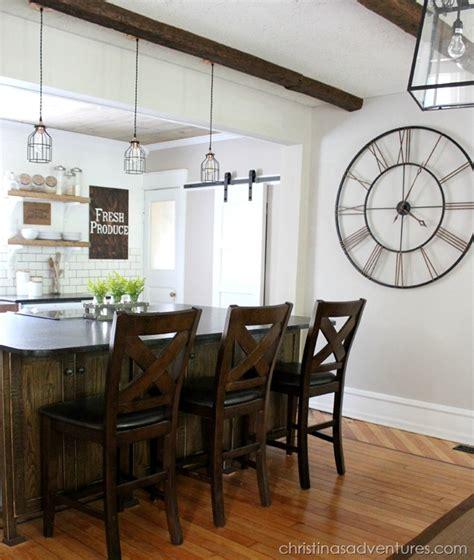 industrial pendants  farmhouse kitchen makeover blog barnlightelectriccom