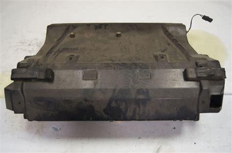 chevy corvette  radiator support shroud black