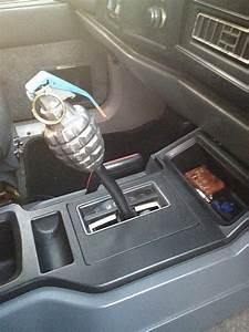 Grenade Shifter Knob