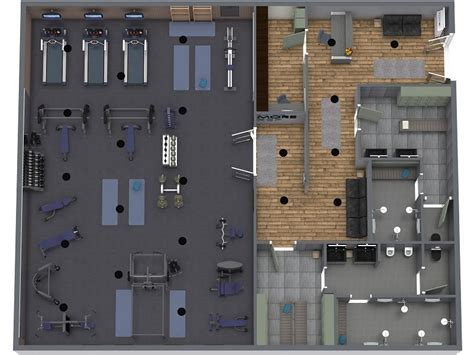 design  layout  functional commercial gym